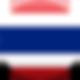 Bandeira de Tailândia