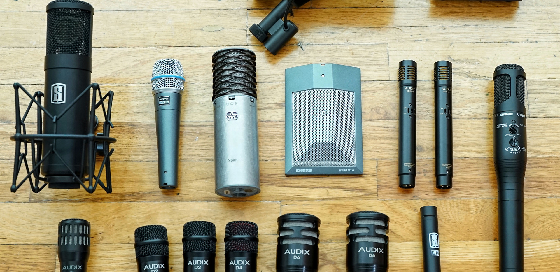 Some of our mics