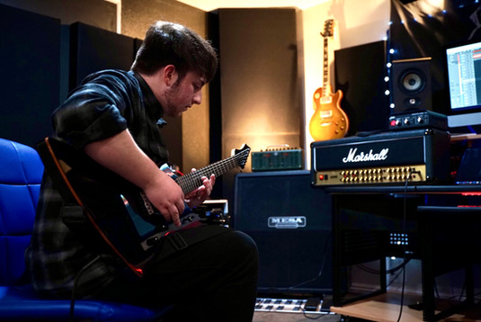 Tracking Guitars through a Marshall JVM