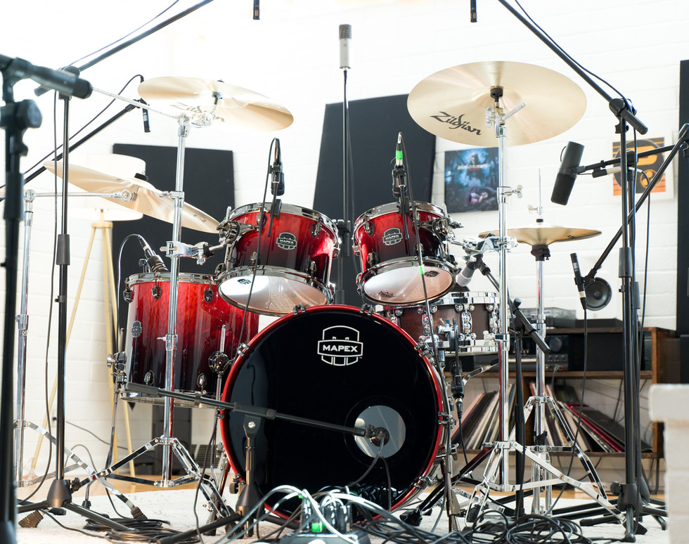 The House Kit and Drum Room