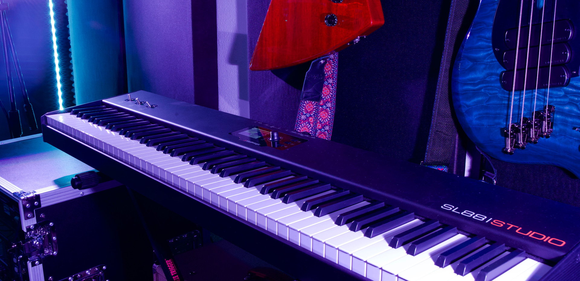 Our 88 weighted key midi keyboard