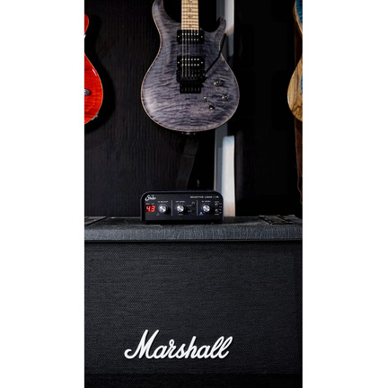 The Suhr Reactive IR loader lets you play with your favorite real amps and rigs while modeling pristine celstion and suhr cabs.