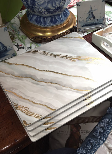 Marble Resin Placemats
