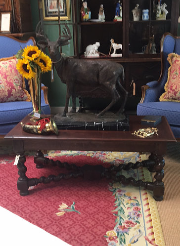 Antique Barley Twist Coffee Table