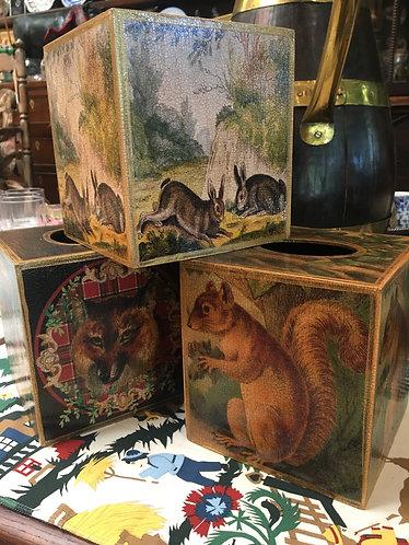 Robin King Tissue Box Covers