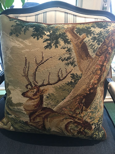 Resting Stag Pillow