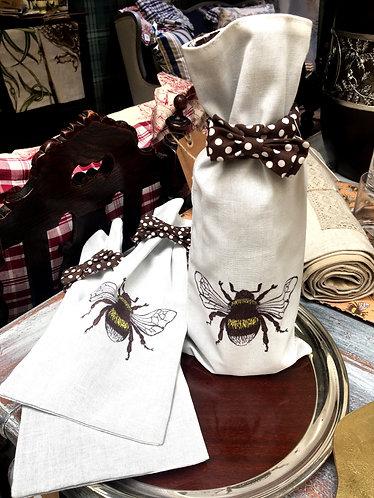 Bee Wine Bag