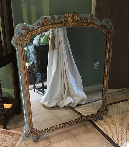 Antique French 18th Century Mirror