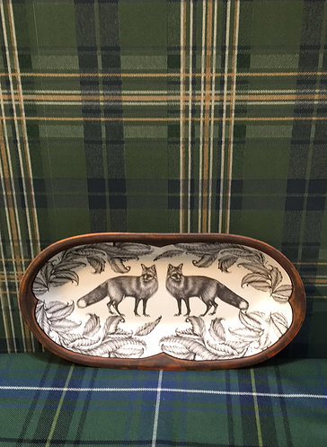 Fox Rectangle Serving Dish