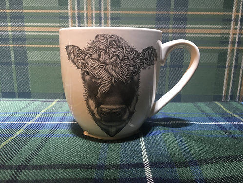 Laura Zindel Hand Painted Assorted Animal Mugs
