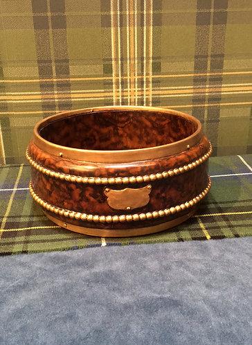 Round Beaded Bowl