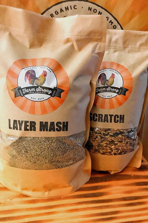 5 lb Organic Layer Mash
