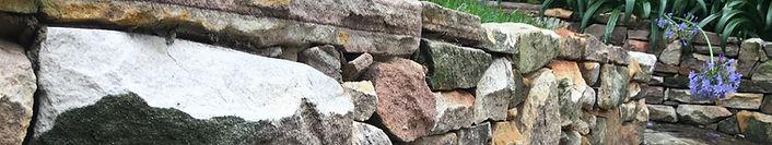 reclaimed sandstone random wall