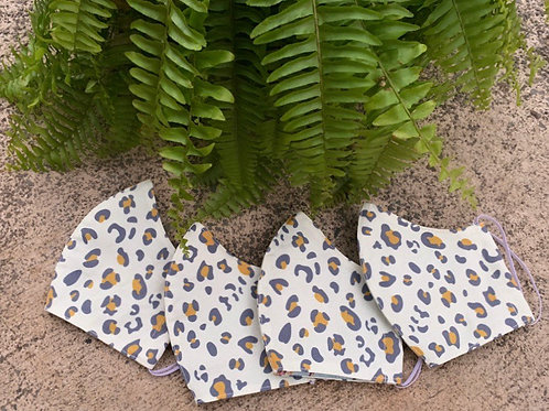 Women's Duck Style SPOTS + CLAWS CANVAS Mask