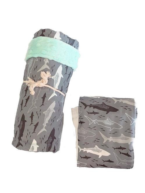 Mano Minky Blanket + Burpcloth
