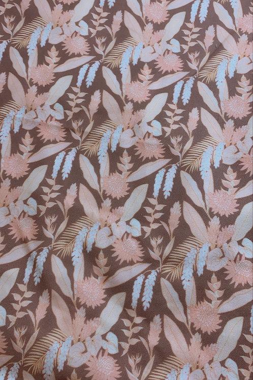Summery Floral Minky Blanket