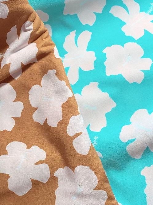 Hibiscus Minky Blanket