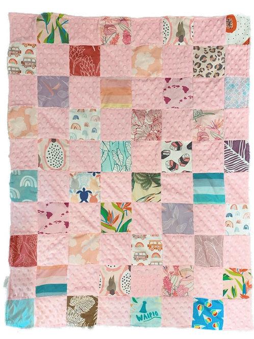 Aloha Quilt - pink