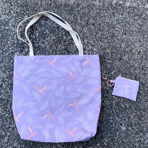 Purple Paradise Tote Set