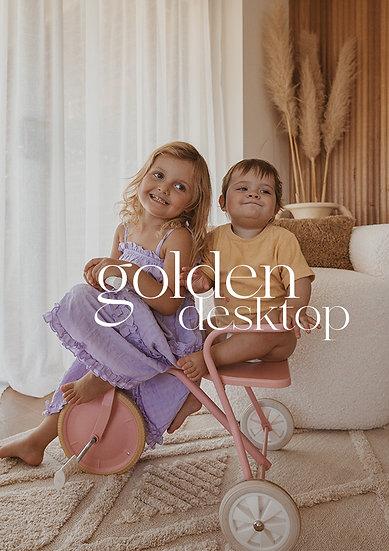 Golden Desktop pack