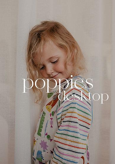 Poppies Desktop pack