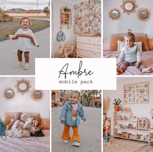 Ambre Mobile 8 presets pack
