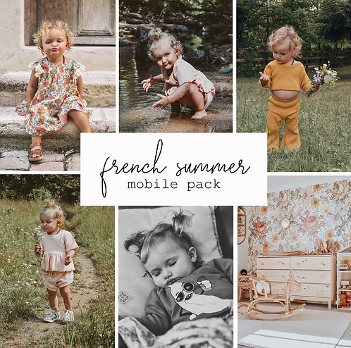 French Summer Mobile 10 pack