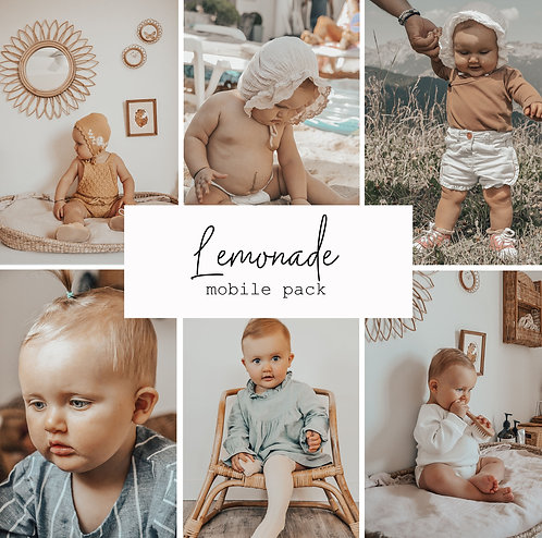 Lemonade Mobile 8 presets Pack