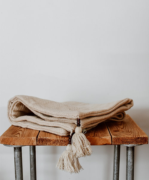 Tassels cushion cover