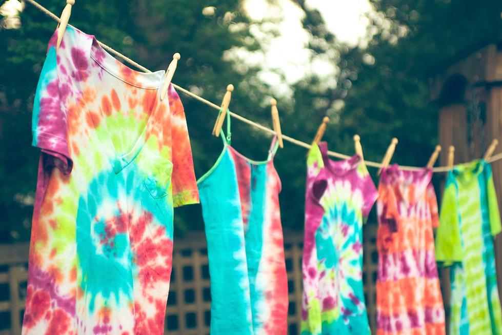 tie dye drying.jfif