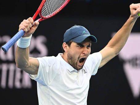 Aslan Karatsev, la gran sorpresa del Australian Open 2021