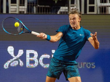 Benoit Paire fue apabullado por Holger Rune en octavos del Chile Open 2021
