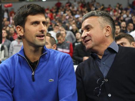 """Padre de Djokovic otra vez contra Federer: """"Por muy gran campeón que sea, no es un buen hombre"""""""