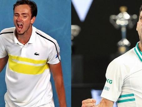 """Medvedev sobre la final contra Djokovic: """"Tiene mucho más que perder"""""""