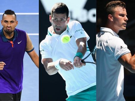 Australian Open: Los tres grandes duelos que dejó el primer día de la segunda ronda
