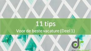 11 tips voor de beste vacature
