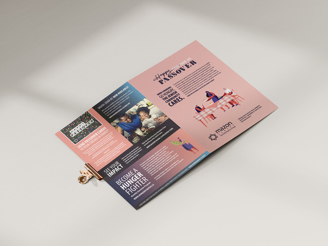 PASSOVER CAMPAIGN BROCHURE