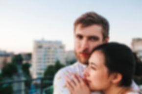Couple's Embrace