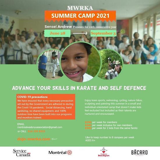 MWRKA Summer Camp 2021