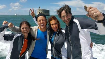 Fångarna på fortet med bästa Susanne VIktor och Shaban