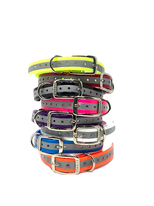 """1"""" Tracking Collar Reflective Replacement Strap"""