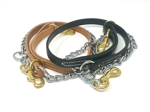 Leather/Chain Tree Leads
