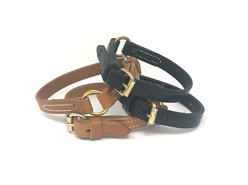 3/4 Leather Collars