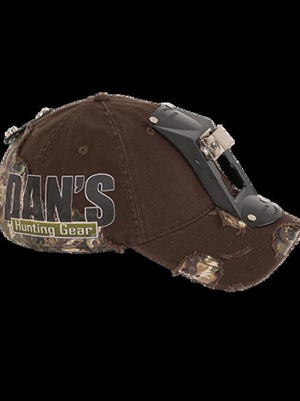 DANS HARD SHELL CAP W/ LIGHT BRACKET