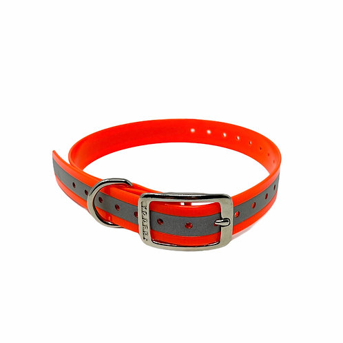 "1"" Tracking Collar Reflective Replacement Strap"