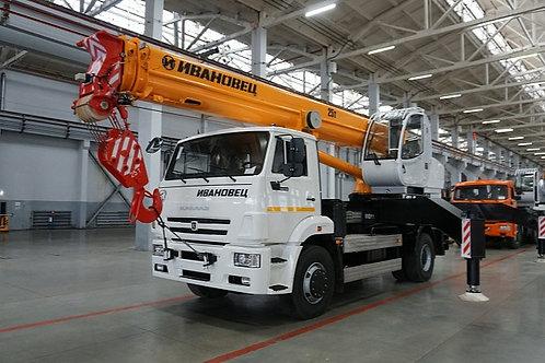 Автокран КС-55744 на шасси КАМАЗ-53605