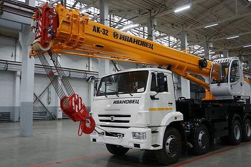 Автокран КС-55717К-1 на шасси КАМАЗ-6540