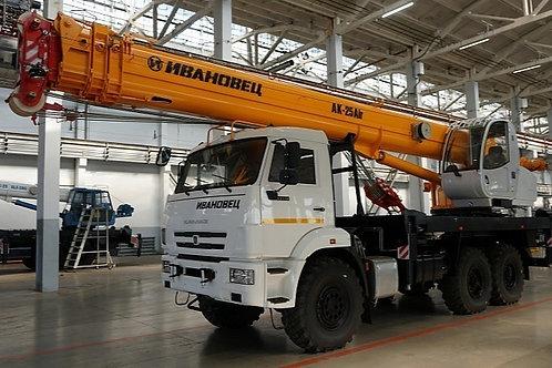 Автокран КС-45717К-3Р на шасси КАМАЗ-43118 (Аir)