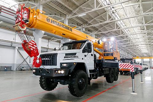 Автокран КС-45717-2М на шасси УРАЛ-4320 (24 м)