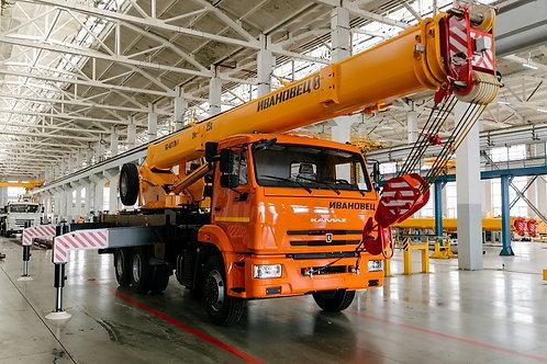 Автокран КС-45717К-1М на шасси КАМАЗ-65115